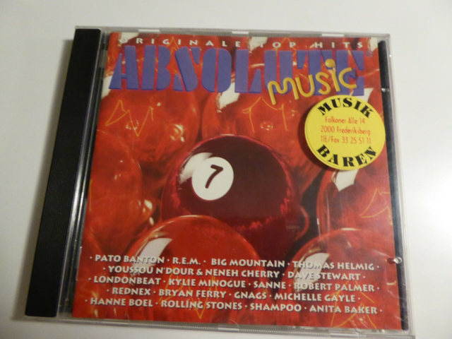 Div. - CD Compilation: Absolute Music 7, pop, Kan sendes…