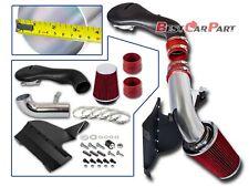 BCP RED 1996-2004 S-10/Blazer/Jimmy/Sonoma 4.3L Cold Shield Intake Kit +Filter