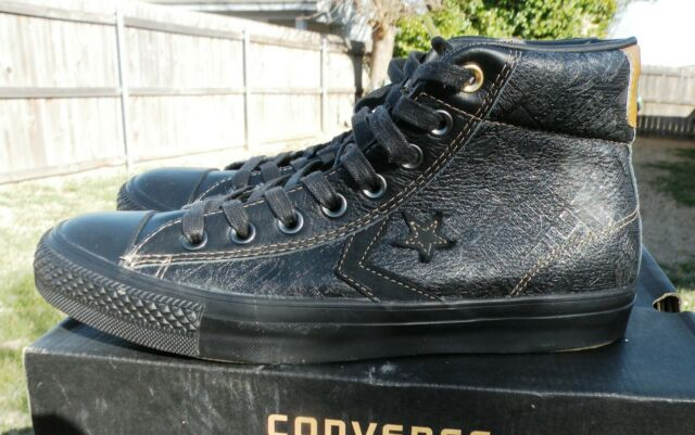 Converse Size 8 Men's EV ALL STAR Player Black History Month #127196C w Box