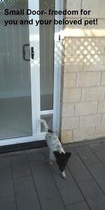 Sliding-Door-Pet-Door-Small-229-FREE-DELIVERY-Black-White-Cream-Grey-10y-WTY