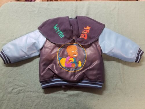 2003 Nick Jr. Little Bill Hooded Letterman Jacket Toddler 3T Extremely Rare