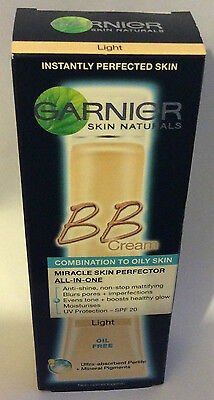 40ml GARNIER Skin Naturals BB Cream Miracle Skin Perfector.FREE UK POSTAGE