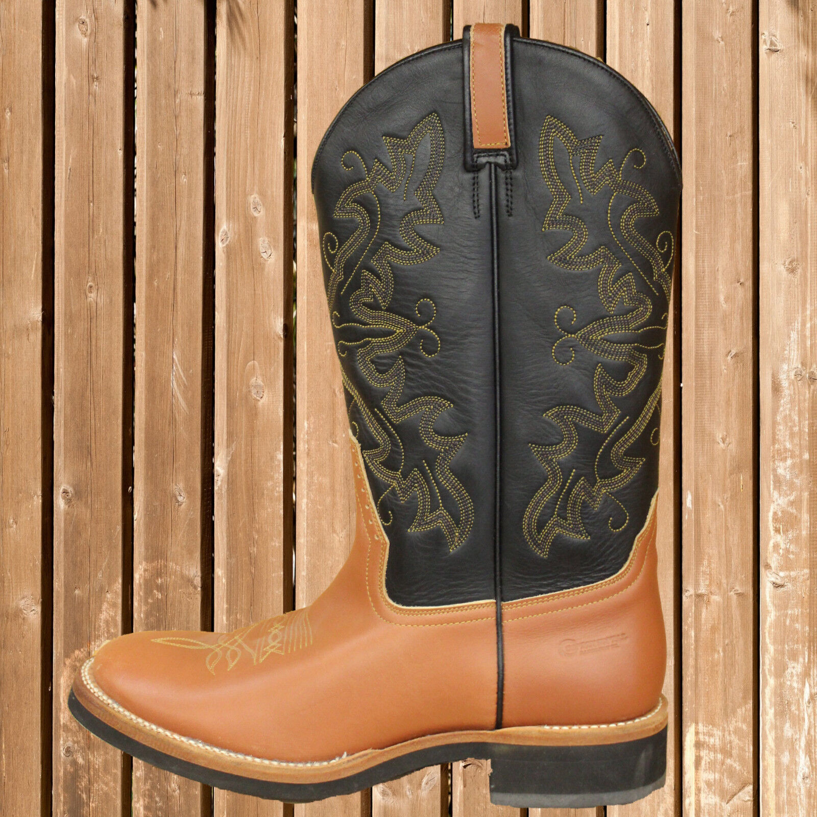 Continental Western Stiefel, Westernstiefel, Continental, Western, Western, Continental, schwarz-braun fde12b
