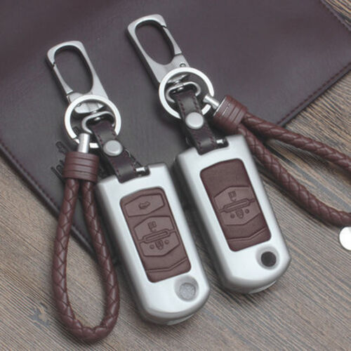 KR23 Car Remote FOB Key Case Holder Cover Shell Fit Mazda 2 3 5 6 Flip Key