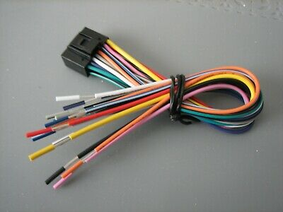 New Power Acoustik Wire Harness For, Power Acoustik Wiring Harness
