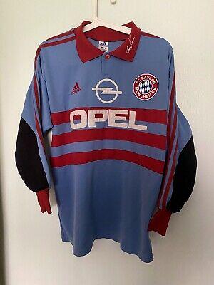 Oliver Kahn Bayern Munich 1998-1999 Home Goal Keeper Jersey Trikot   eBay