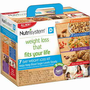 Nutrisystem D 7 Day Weight Loss Kit Fast