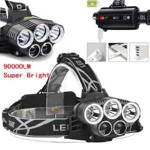 Bright-90000LM-5X-T6-LED-Headlamp-Rechargeable-Headlight-Flashlight-Torch-Lamp-s