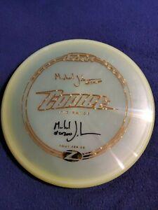 Discraft-Disc-Golf-Comet-Z-Plastic-Michael-Johansen-Autographed-Tour-Series-177g