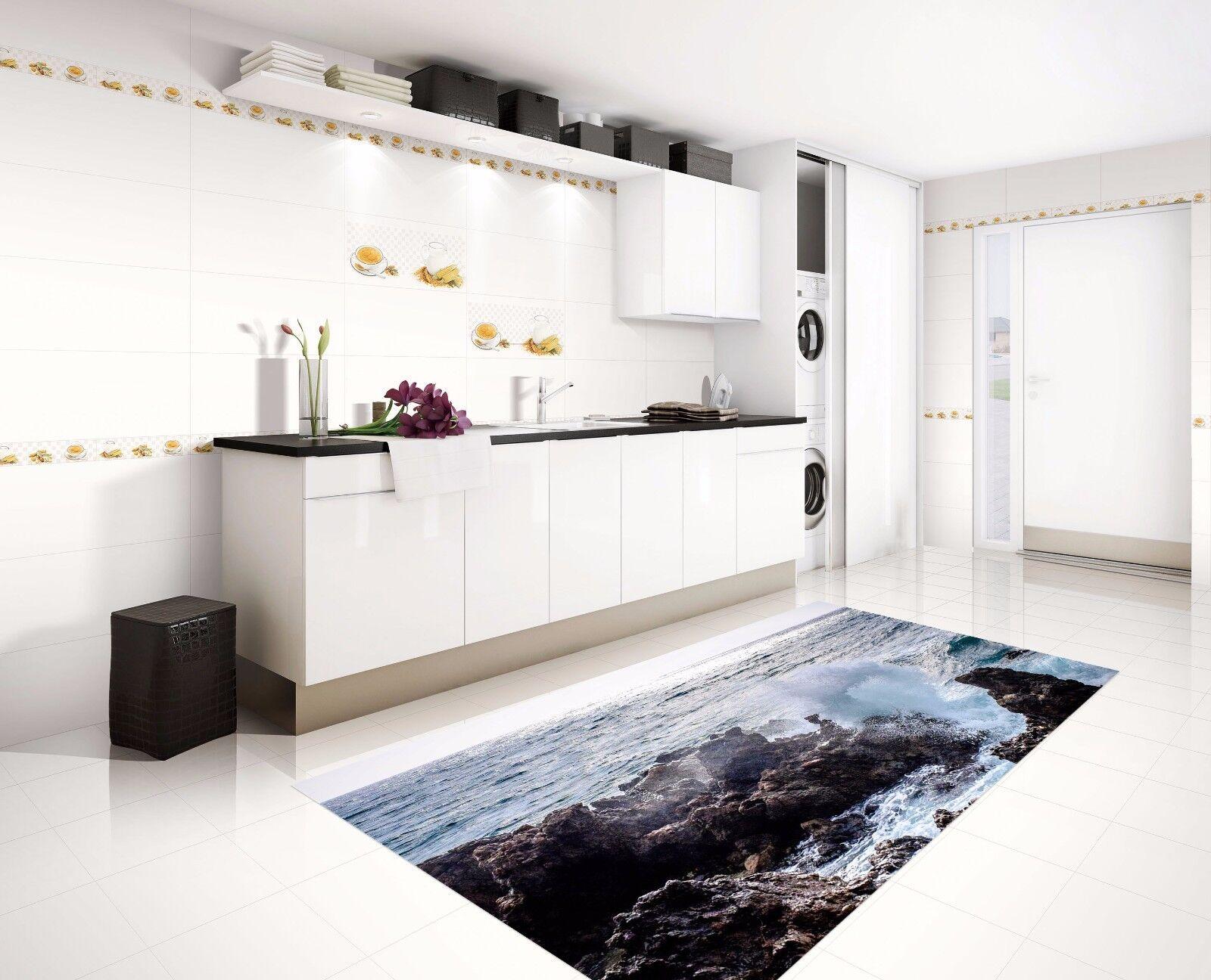 3D Sea Stone 741 Kitchen Mat Floor Murals Wall Print Wall AJ WALLPAPER AU Kyra