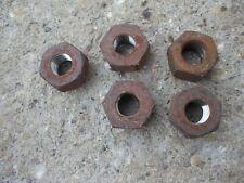 Massey Ferguson 35 Mf Tractor 5 Rear Wheel Hub Tapered Lug Nut Nuts