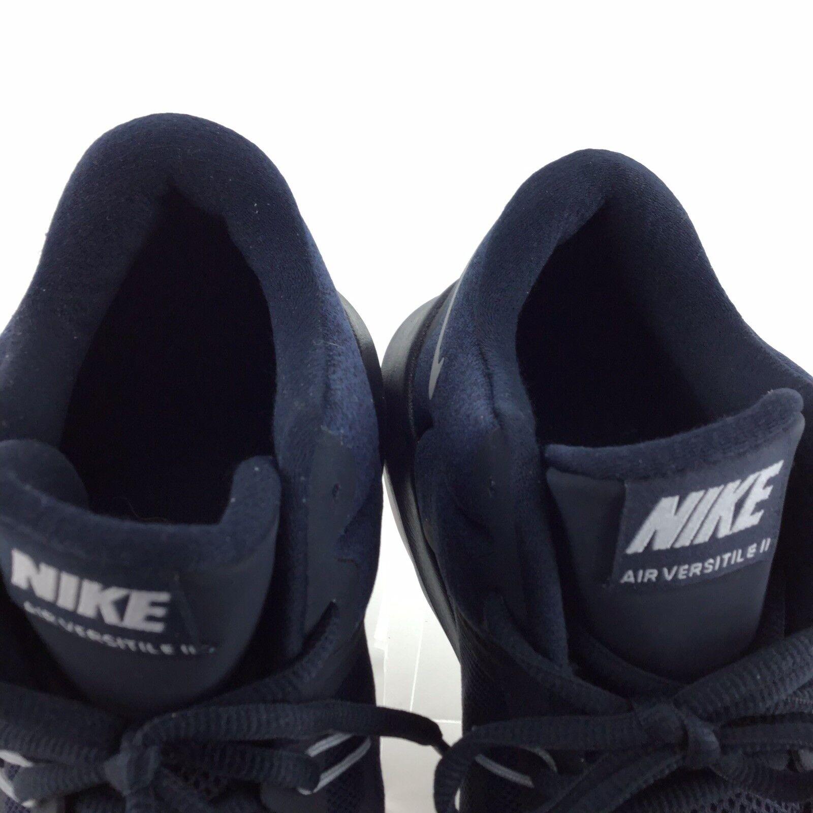 ed4a9dd127 ... Nike Air Air Air Versitile ll Basketball Athletic Sneakers bluee Black  Mens 10 shoes A10 1bced8 ...