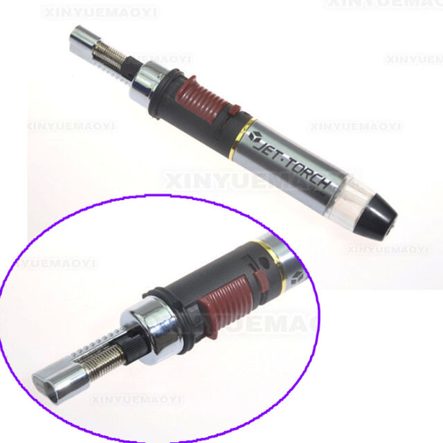 Jet Flame Torch Soldering Pencil Butane Gas Soldering Pen Refillable Torch Hot