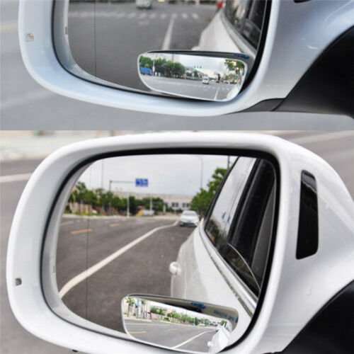 2PCS 360° Wide Angle Universal Car Auto Rear Side View Convex Blind Spot Mirror