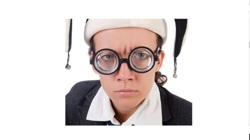New Nerd School Boy Harry Potter Style Glasses Geek Specs Joke Fancy Dress