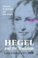 Hegel and the Tradition: Essays in Honour of H.S. Harris (Toronto Studies in Ph