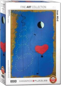Eurographics Jigsaw Puzzle 1000 Piece - Joan Miro - Ballerina II EG60000854