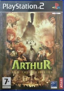 Arthur-And-The-Invisibles-PS2-Game-GOOD-CONDITION