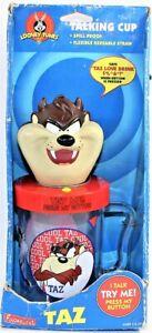 Taz Tasmanian Devil Talking Cup 1997  Looney Tunes WB Warner Brothers Vintage