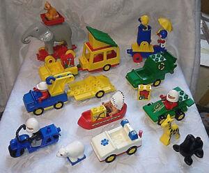 Duplo Convolute Collection Ambulance Remorquage Voiture de course Éléphant U.v.m.