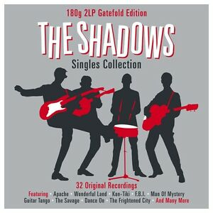 The-Shadows-Singles-Collection-180g-2LP-Vinyl-Gatefold-Edition-NEW-SEALED