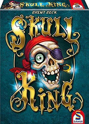 75024 Schmidt Skull King Jeu De Cartes