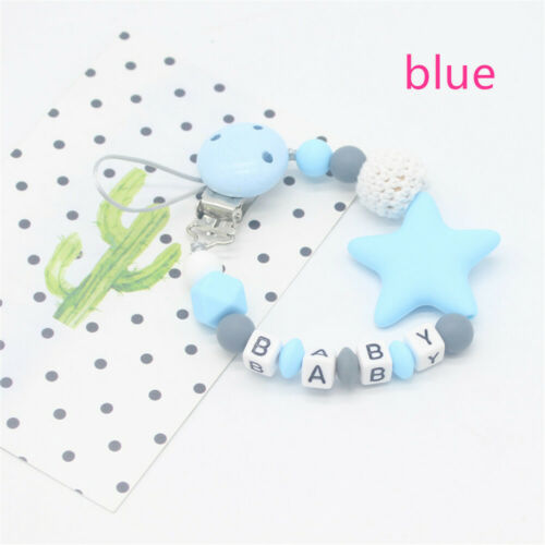 Silikon nicht giftig dummy kette baby baby soother clips schnuller