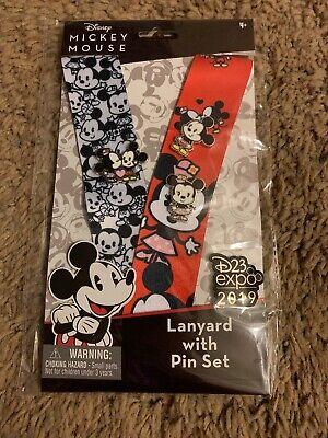Disney D23 EXPO 2019 Exclusive LILO /& STITCH LANYARD PIN SET Chibi Kawaii LE 720