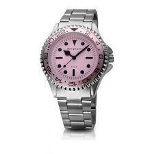 Original Bergmann-Uhr Modell 1982 pink Design Klassiker