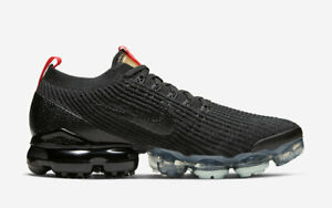 Nike-Air-Vapormax-Flyknit-3-Mens-US-8-UK-7-AJ6900-023-Black-Snakeskin