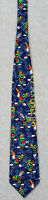 Marvin The Martian All Over Warner Bros. Looney Tunes Necktie Rare