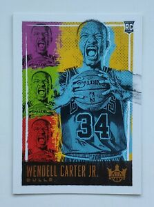 2018-19-Panini-Court-Kings-Wendell-Carter-Jr-Rookie-Card
