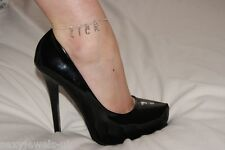 Premium 'LICK' Hotwife Anklet Ankle Chain Jewellery Cleanup Duty Foot Fetish UK