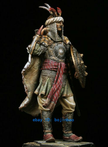 1//24 Unpainted Resin Figure Ancient Standing Warrior Model Kits Unassembled GK
