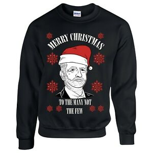 Jeremy Corbyn Christmas Santa Claus Funny Sweater Jumper