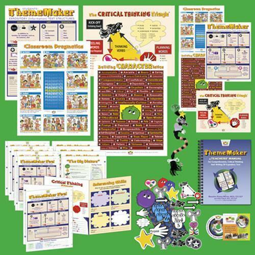 The ThemeMaker Kit for Expository Text Comprehension, Speaking & Writing