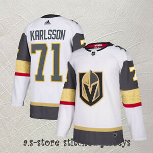 promo code 9d3f2 302cb Details about Vegas Golden Knights Men White Hockey Jersey M-3XL William  Karlsson #71 Sewn