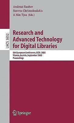 Research and Advanced Technology for Digital Libraries: 9th European Conference