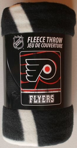 "NHL Philadelphia Flyers Sports Hockey 50/"" X 60/"" Fleece Fabric Throw #031-flyers"