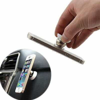 Universal 360° Rotating Car Sticky Magnetic Stand Holder For Phone iPhone GPS1pc
