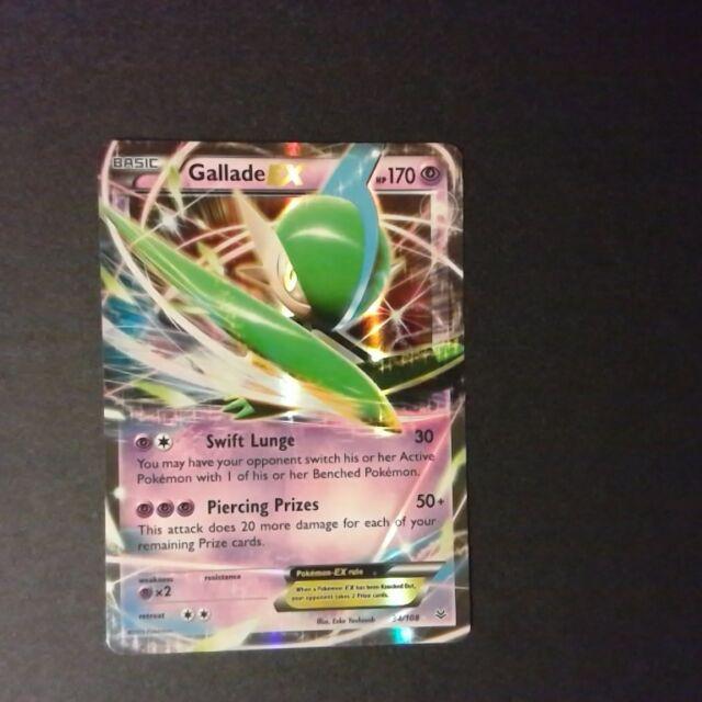 Gallade EX 34//108 XY Roaring Skies HOLO PERFECT MINT Pokemon
