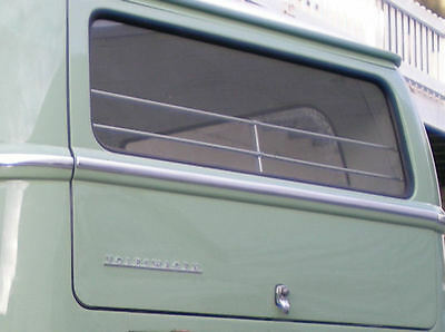side rear VW Volkswagen bus van type 2 complete jail bar set for 64-67 bus