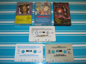 CULTURE-CLUB-1980-039-s-LP-AUDIO-CASSETTES-X3