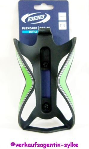 BBB FlexCage BBC-36 Fahrrad Flaschenhalter aus Verbundmaterial schwarz-grün NEU