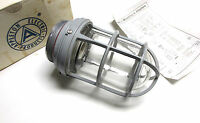 . Appleton Aluminum V-51 Fixture -socket-guard & Globe Cat Vu-100 .. Uj-56