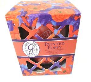 Greenleaf-Signature-Candle-Painted-Poppy-9-5oz-Glass-Jar-Soy-Blend-NIB