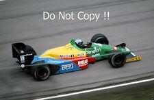 Alessandro Nannini Benetton B188 Belgian Grand Prix 1988 Photograph 2