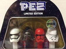 STAR WARS Episode 9 Limited Edition Tin PEZ Set - Kylo Ren, Storm Troopers NEW
