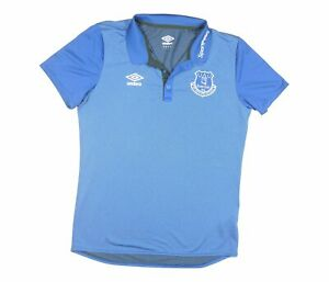 Everton 2018-19 ORIGINALE POLO (eccellente) L soccer jersey