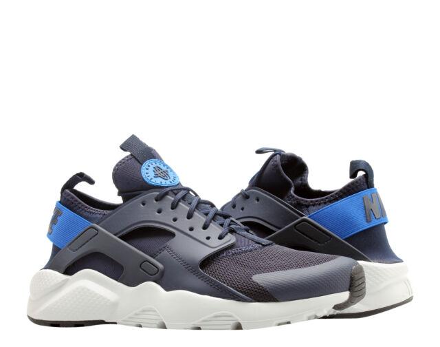 0091b3eda54a Nike Air Huarache Run Ultra Obsidian Signal Blue Men s Running Shoes  819685-412